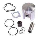 Piston Kit with Rings Gaskets for Yamaha PW50 Big Bore PW60 QT60 60cc