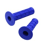Blue Motorcycle Handle Bar Hand Grips Set for Yamaha PW80 PW 80 Peewee Dirt Bike