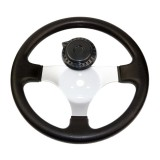 The Steering wheel fit for 110cc to 150cc go karts New