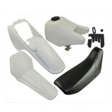 Plastic Seat Body Fender Gas Tank Assembly Kit for Yamaha PW80 PW 80 Dirt Bike
