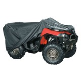 Universal Quad bike ATV Cover Water Resistant Fits up to 800cc Black New