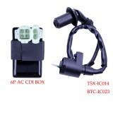 Ignition Coil & CDI XR CRF TRX 50 70 125 250 300cc ATC New