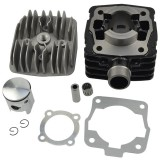 KTM 50 SX 50SX Air Cool Engine Cylinder Piston Kit Pro JR SR Mini Adventure